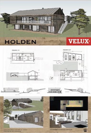Tretie miesto a finančnú odmenu 150 eur si z vyhodnotenia odniesla dvojica  autorov Ester Vaňová a Adam Tomík s projektom HOLDEN. 0427aa773c0