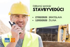 STAVBYVEDUCI - seminár