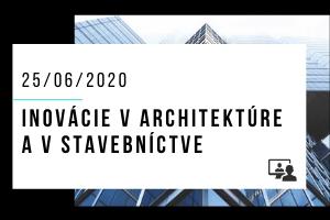Inovácie v architektúre a v stavebníctve 2020