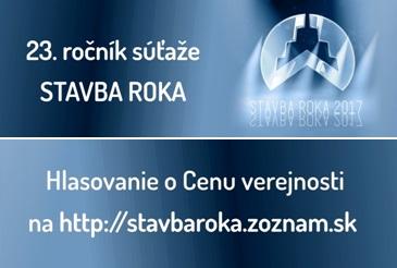 SÚŤAŽ STAVBA ROKA 2018