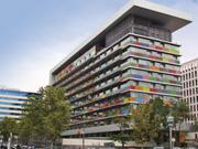 Budova národného štatistického úradu - Madrid