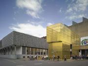 Zlatá architektúra v mestskom Sculpture parku - Münster