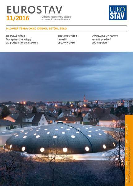 Časopis EUROSTAV - 11/2016