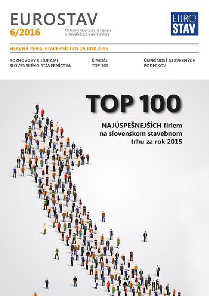 Časopis EUROSTAV - 6/2016