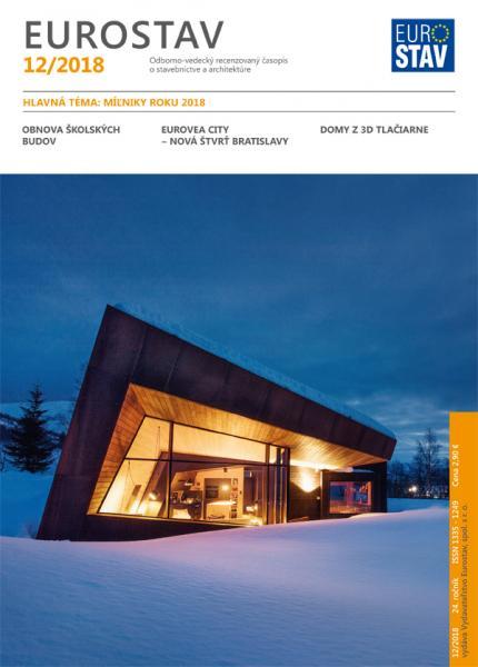 Časopis EUROSTAV - 12/2018