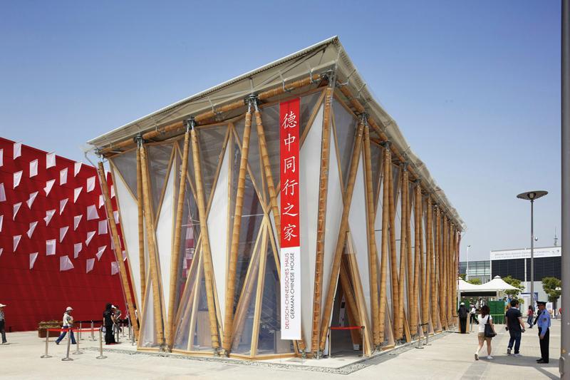 Fotografie z aktuálneho čísla 7-8/2018 Nemecko-čínsky bambusový dom – Expo 2010  #7