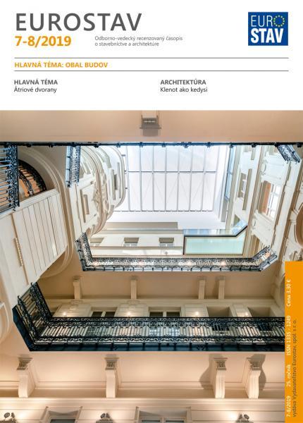 Časopis EUROSTAV - 7-8/2019