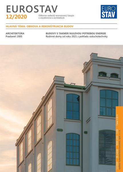 Časopis EUROSTAV - 12/2020