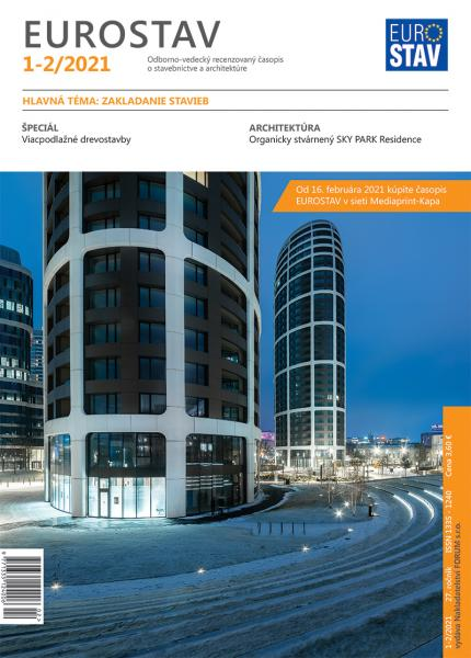Časopis EUROSTAV - 1-2/2021
