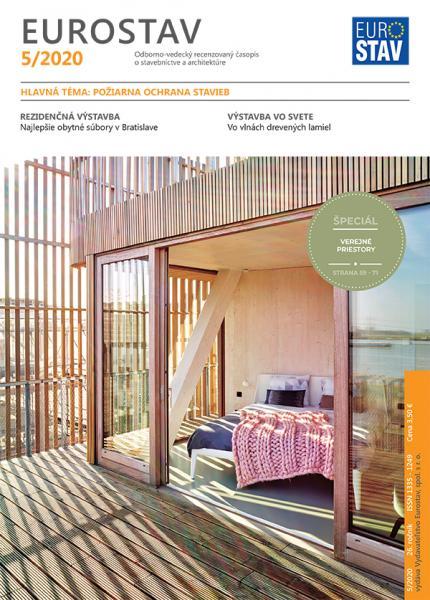 Časopis EUROSTAV - 5/2020
