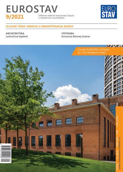 Časopis EUROSTAV - 9/2021